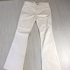 Canvas by Lands' End White jeans size 10